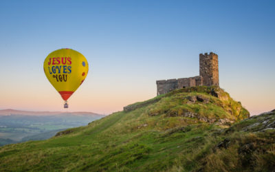 Brentor tethered balloon