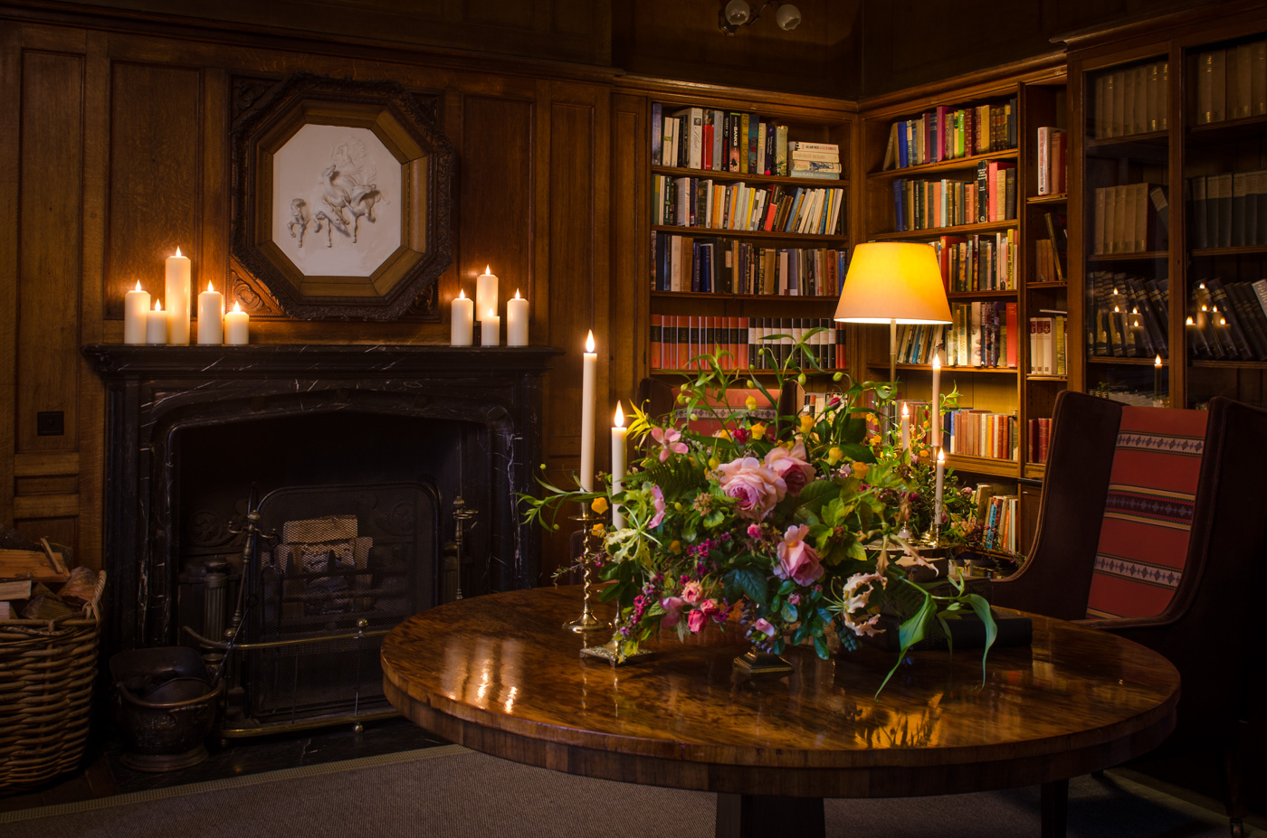 Candled Endsleigh Library